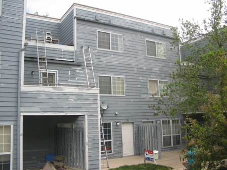 Exterior painting and trim replacement condos fort collins co - Painting preparation exterior photos ...